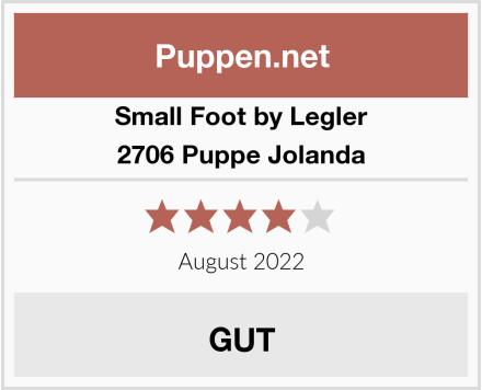 Small Foot by Legler 2706 Puppe Jolanda Test