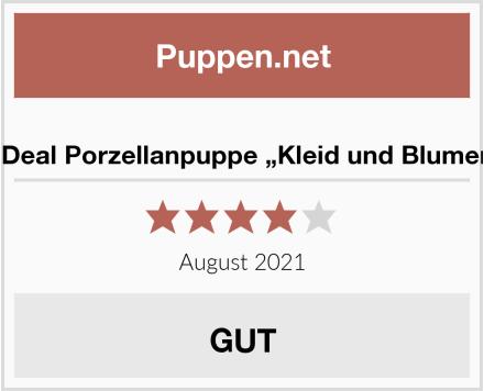 """MagiDeal Porzellanpuppe """"Kleid und Blumenhut"""" Test"""