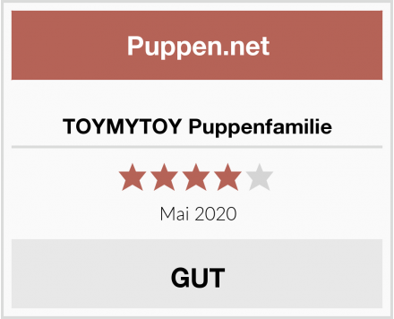 No Name TOYMYTOY Puppenfamilie Test