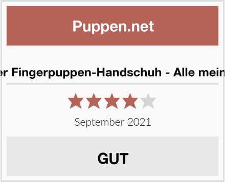 Mein liebster Fingerpuppen-Handschuh - Alle meine Fingerlein Test