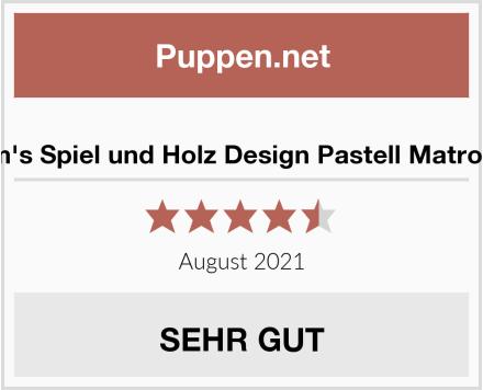 Grimm's Spiel und Holz Design Pastell Matroschka Test