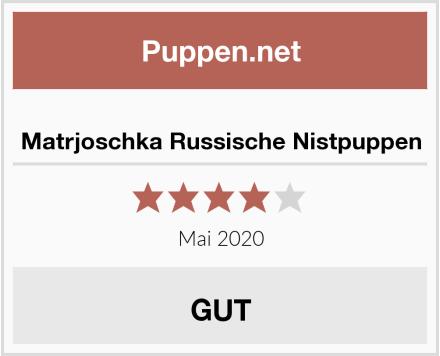 Matrjoschka Russische Nistpuppen Test