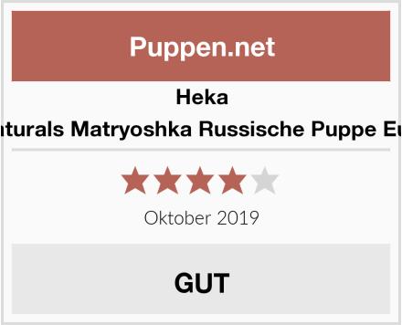 Heka Naturals Matryoshka Russische Puppe Eule Test