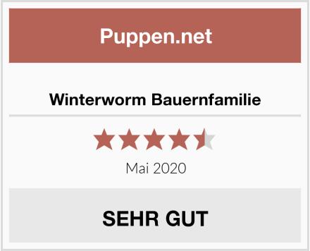 Winterworm Bauernfamilie Test