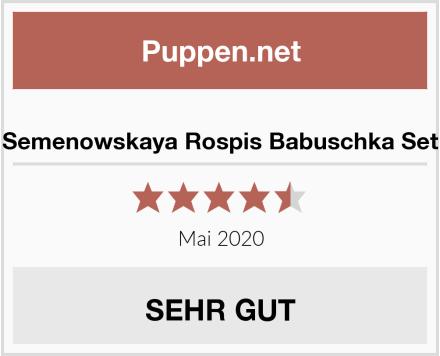 Semenowskaya Rospis Babuschka Set Test