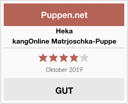 Heka kangOnline Matrjoschka-Puppe Test