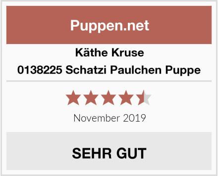 Käthe Kruse 0138225 Schatzi Paulchen Puppe Test