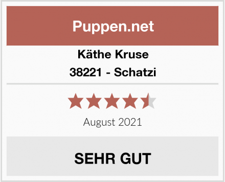 Käthe Kruse 38221 - Schatzi Test
