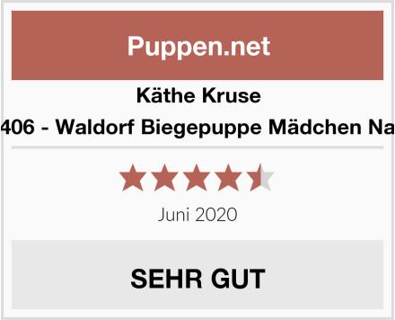 Käthe Kruse 66406 - Waldorf Biegepuppe Mädchen Nana Test
