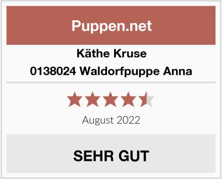 Käthe Kruse 0138024 Waldorfpuppe Anna Test