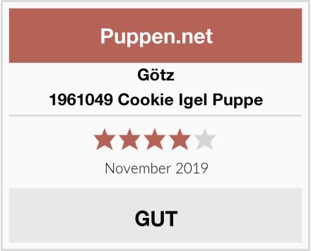 Götz 1961049 Cookie Igel Puppe Test