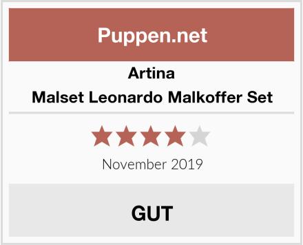 Artina Malset Leonardo Malkoffer Set Test