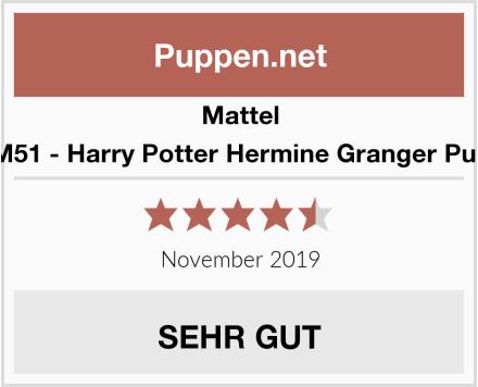 Mattel FYM51 - Harry Potter Hermine Granger Puppe Test