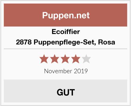 Ecoiffier 2878 Puppenpflege-Set, Rosa Test