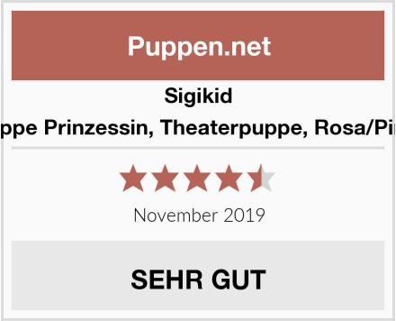 Sigikid Fingerpuppe Prinzessin, Theaterpuppe, Rosa/Pink, 40375 Test