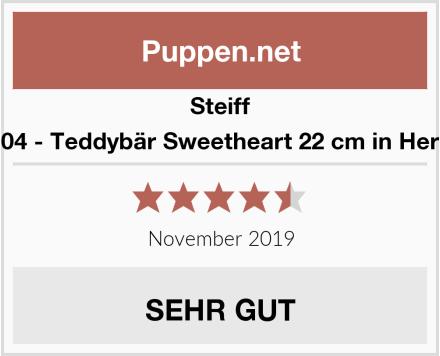 Steiff 109904 - Teddybär Sweetheart 22 cm in Herzbox Test