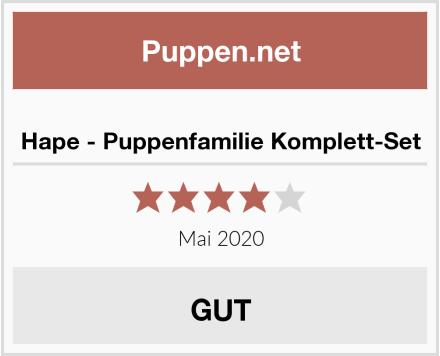 Hape - Puppenfamilie Komplett-Set Test