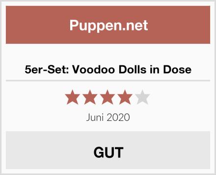5er-Set: Voodoo Dolls in Dose Test