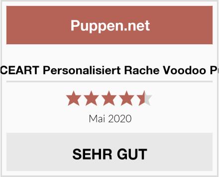 GRACEART Personalisiert Rache Voodoo Puppe Test