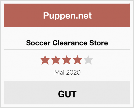Soccer Clearance Store Test