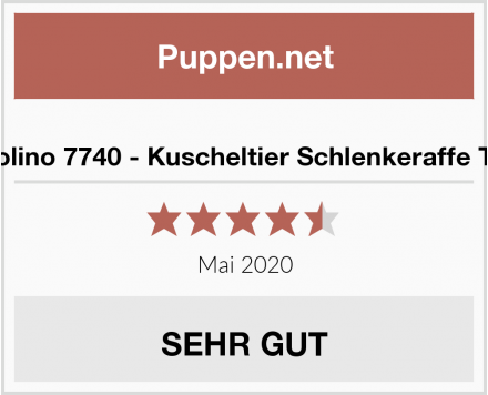 Inwolino 7740 - Kuscheltier Schlenkeraffe Timo Test