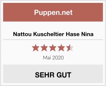 Nattou Kuscheltier Hase Nina Test