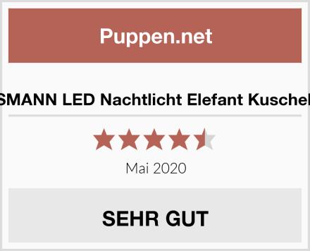 ANSMANN LED Nachtlicht Elefant Kuscheltier Test