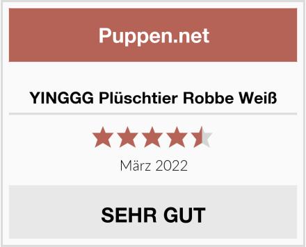 YINGGG Plüschtier Robbe Weiß Test