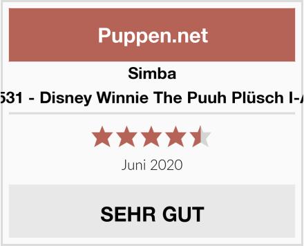 Simba 6315875531 - Disney Winnie The Puuh Plüsch I-Ah 25 cm Test