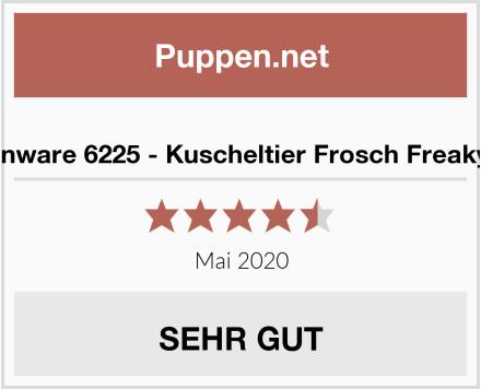 Inware 6225 - Kuscheltier Frosch Freaky Test