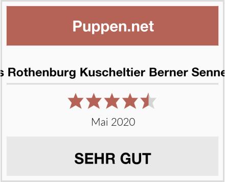 Teddys Rothenburg Kuscheltier Berner Sennenhund Test