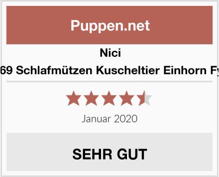 Nici 41369 Schlafmützen Kuscheltier Einhorn Fyala Test