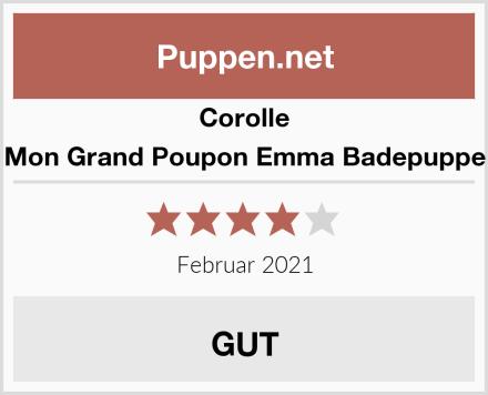 Corolle Mon Grand Poupon Emma Badepuppe Test