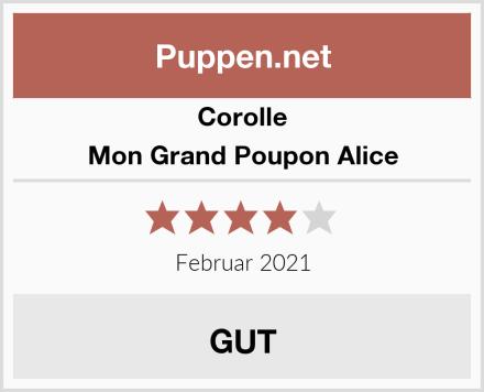 Corolle Mon Grand Poupon Alice Test