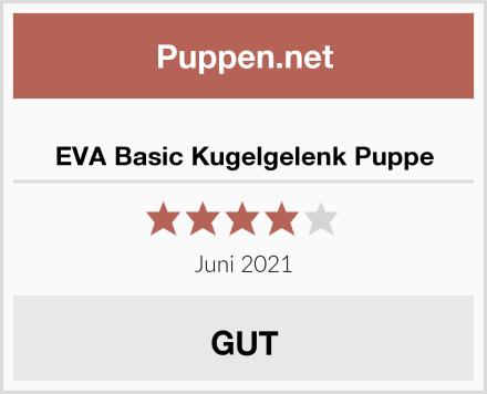 EVA Basic Kugelgelenk Puppe Test