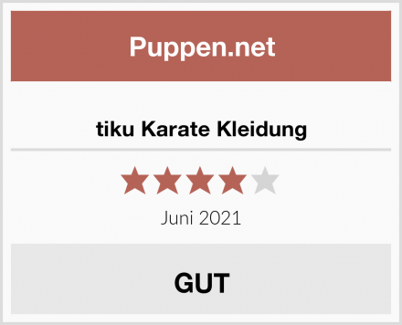tiku Karate Kleidung Test
