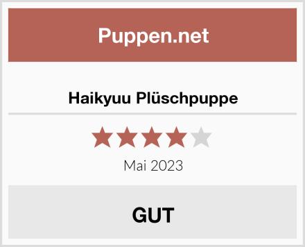 Haikyuu Plüschpuppe Test