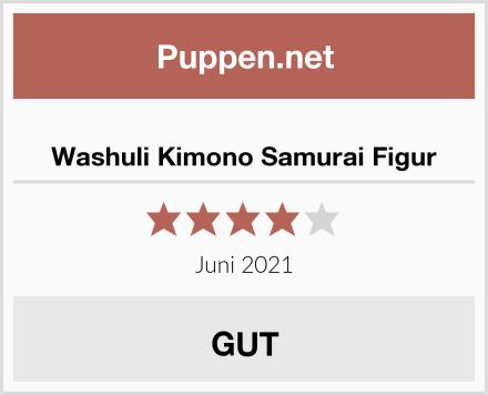 Washuli Kimono Samurai Figur Test