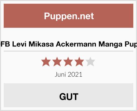SDFB Levi Mikasa Ackermann Manga Puppe Test