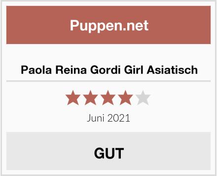 Paola Reina Gordi Girl Asiatisch Test