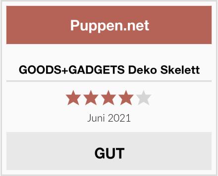GOODS+GADGETS Deko Skelett Test