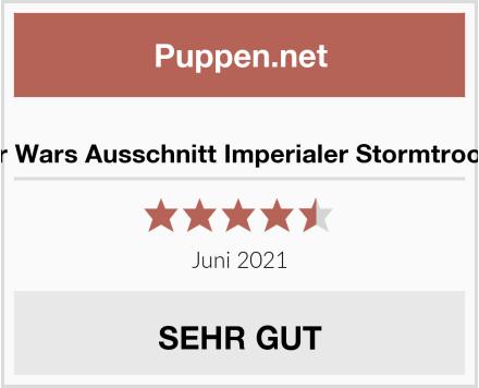 Star Wars Ausschnitt Imperialer Stormtrooper Test