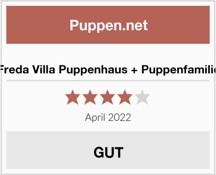 Freda Villa Puppenhaus + Puppenfamilie Test
