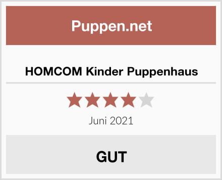 HOMCOM Kinder Puppenhaus Test
