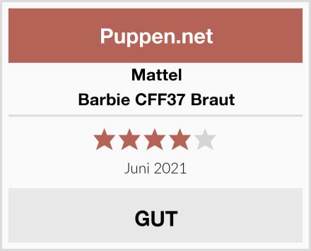 Mattel Barbie CFF37 Braut Test