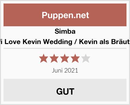 Simba Steffi Love Kevin Wedding / Kevin als Bräutigam Test
