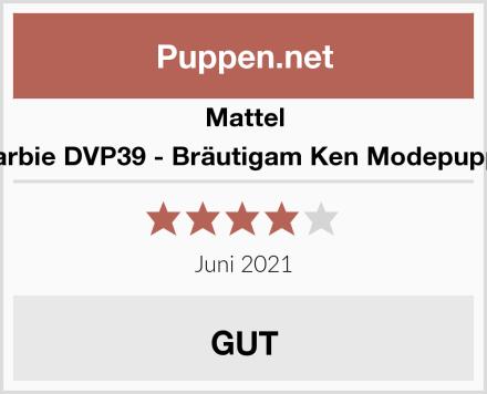 Mattel Barbie DVP39 - Bräutigam Ken Modepuppe Test