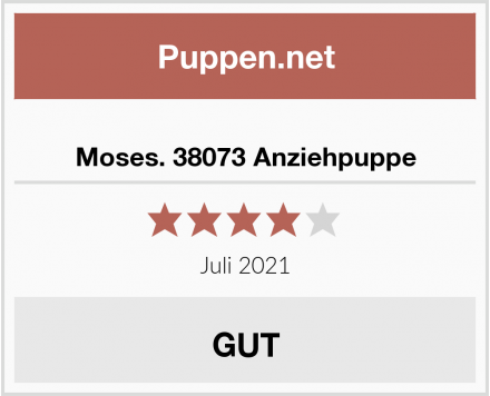 Moses. 38073 Anziehpuppe Test