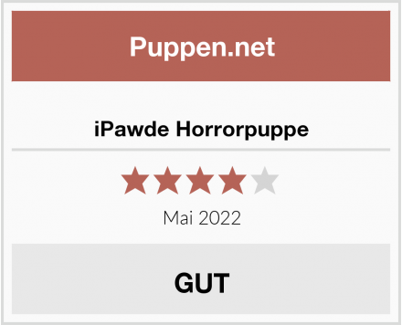 iPawde Horrorpuppe Test