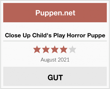 Close Up Child's Play Horror Puppe Test
